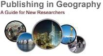 Publishing in Geography - A Guide for New Researchers