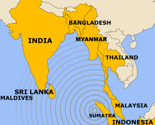 Indian Ocean Earthquake