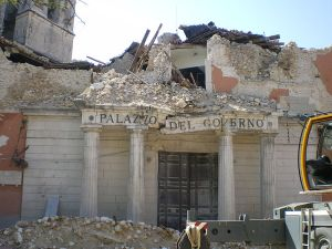 Damage caused by L'Aquila earthquake, 2009