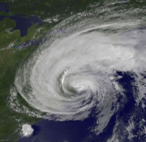 Hurricane Irene viewed from space, August 2011