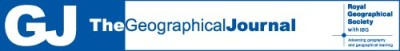 The Geographical Journal Banner