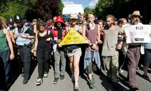 Balcombe protesters