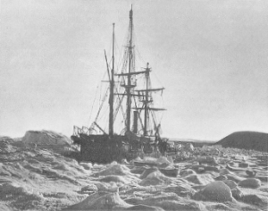 HMS Alert's 1875-76 expedition to the Arctic. Courtesy Wikimedia Commons.