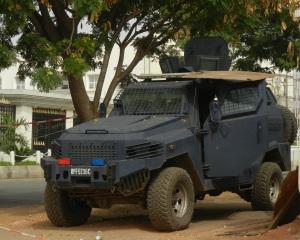 Military Presence in Maitama, Abuja (image credit: Stuart Elden)