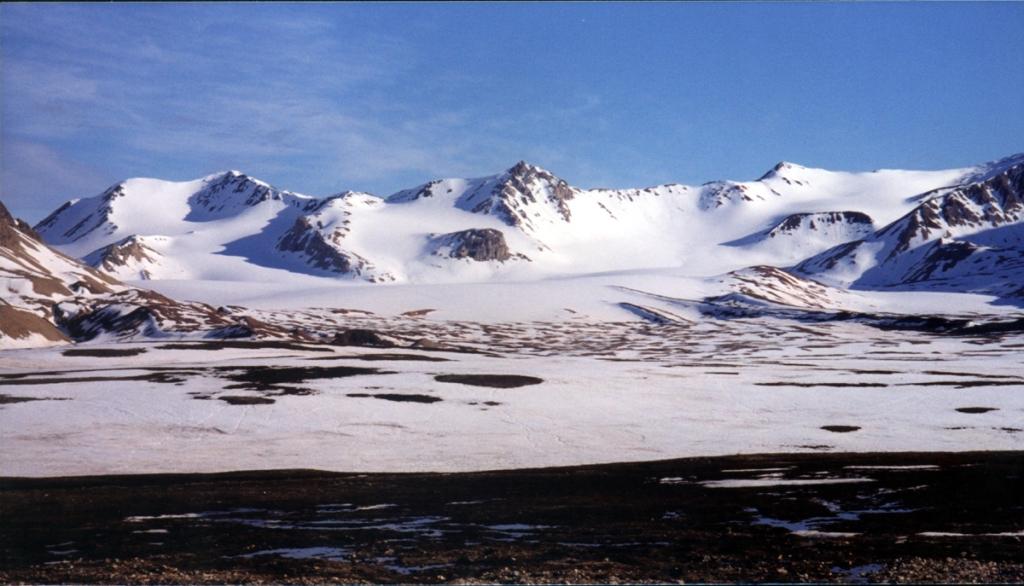 Brøggerbreen: Photo credit: Richard Hodgkins