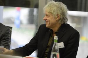 Bob Geldof. Photo Credit: Eric Roset. Available via CC BY 2.0