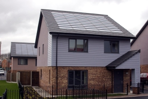 Park Dale zero carbon social housing scheme in Wakefield