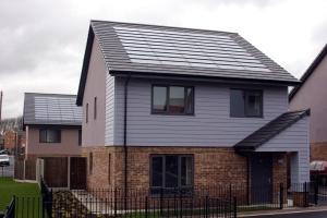 Park Dale zero carbon social housing scheme in Wakefield