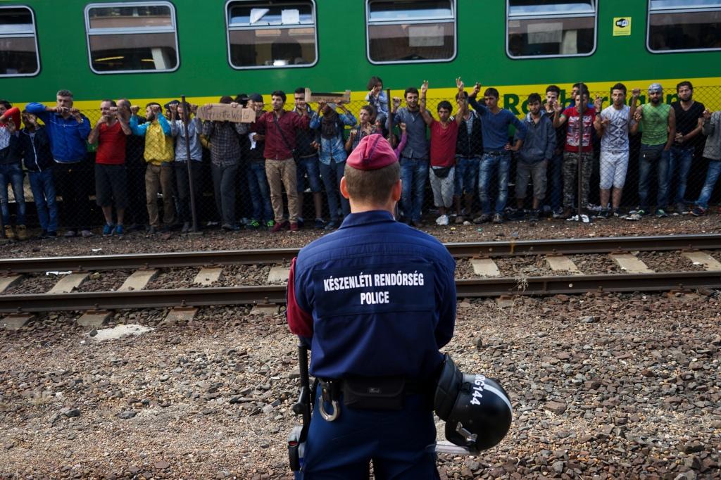 Syrian Refugees at Keleti Railway Station in Budapest, Hungary Photo: Mstyslav Chernov/Wikimedia Commons