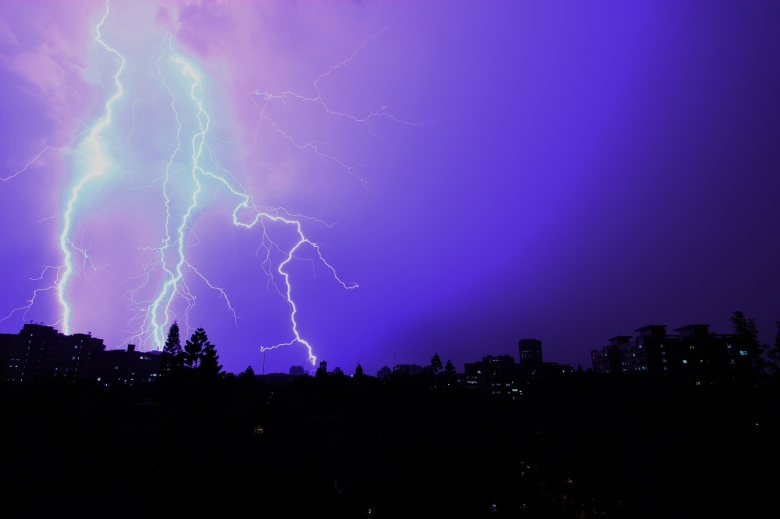 'Shocking Lightning!' by Darren Hsu via flickr. Available at: https://www.flickr.com/photos/darren8221/9193099396/