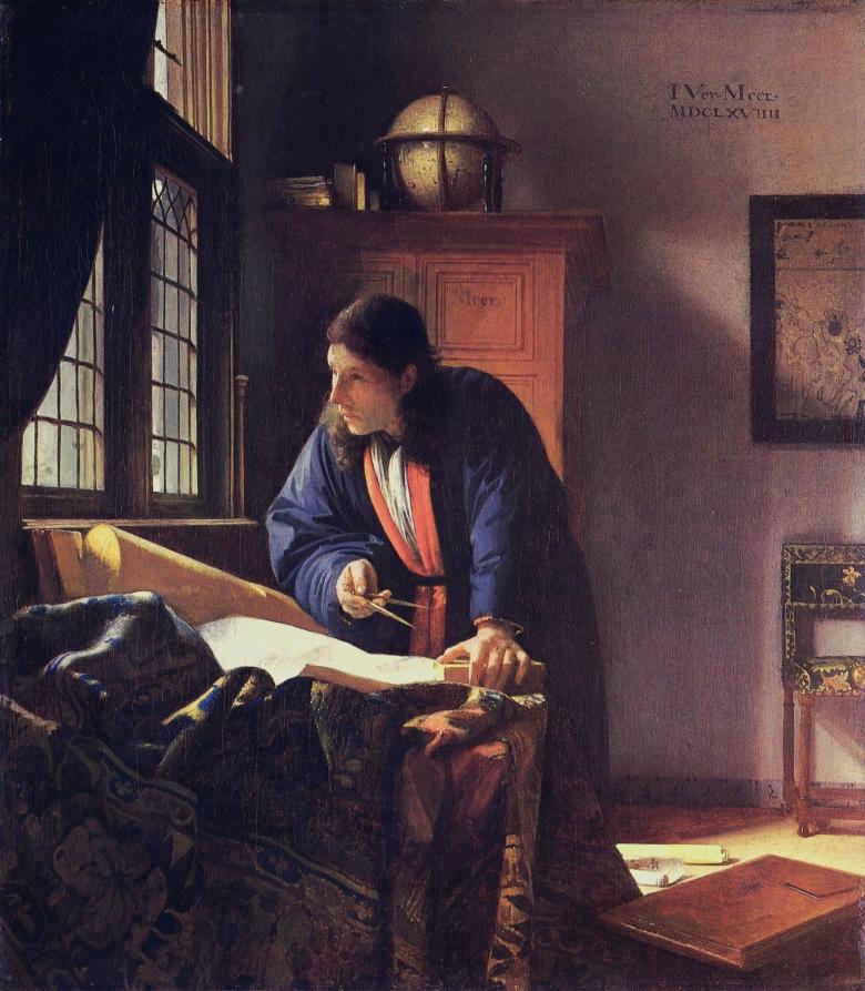 j-_vermeer_-_el_geografo_museo_stadel_francfort_del_meno_1669
