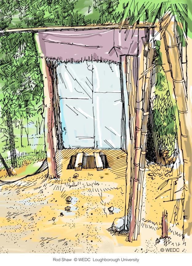 pit latrine Rod Shaw WEDC