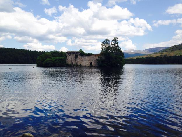 Loch an Eilean Castle